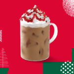 Iced Cranberry White Chocolate Mocha